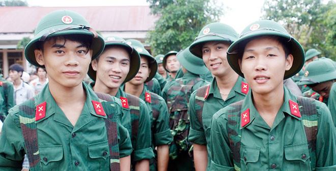 Tiêu chuẩn tuyển quân gọi nhập ngũ